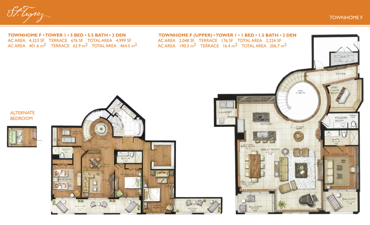 st tropez townhome floorplans On townhome floor plans